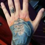 iceberg-hand